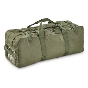 army duffel bag